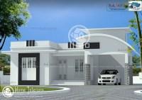Contemporary Single Floor House Plans Kerala