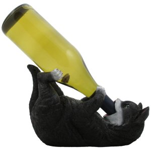 Feline Wine (Black & White)