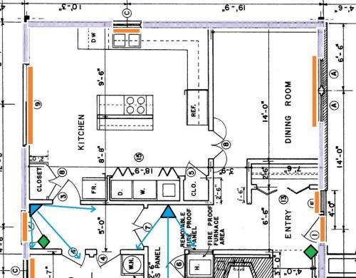 home wiring diagram security runs