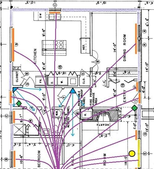 home run wiring diagram residential