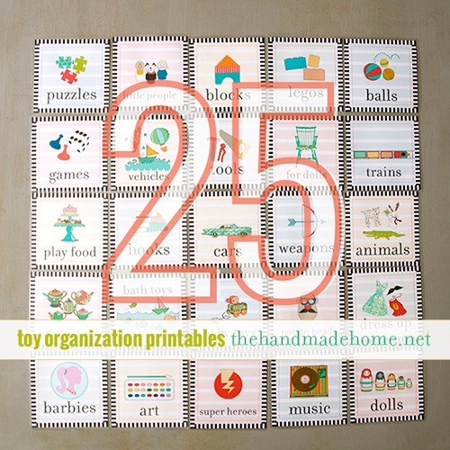 Back To School Printable Organizing Bundle {Sale August 1-9 Only}