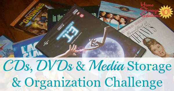 Cd And Dvd Storage And Organization Tips Ideas