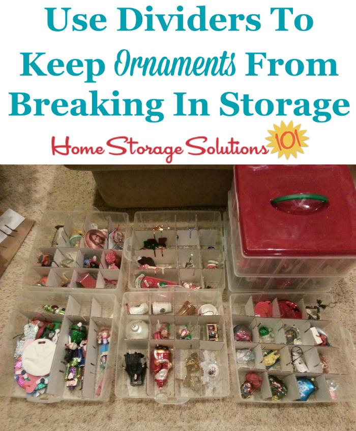 Christmas Ornament Storage Solutions To Keep Them Safe \ Secure - how to store christmas decorations