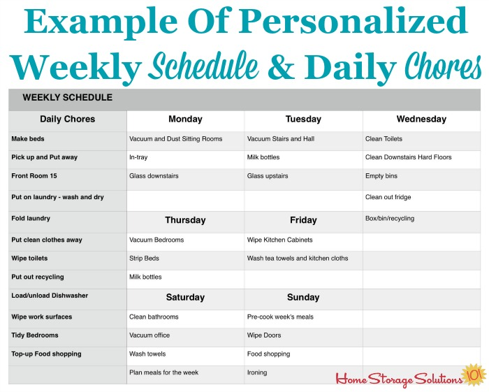 How To Make A Personalized Daily Cleaning Checklist For Your Home