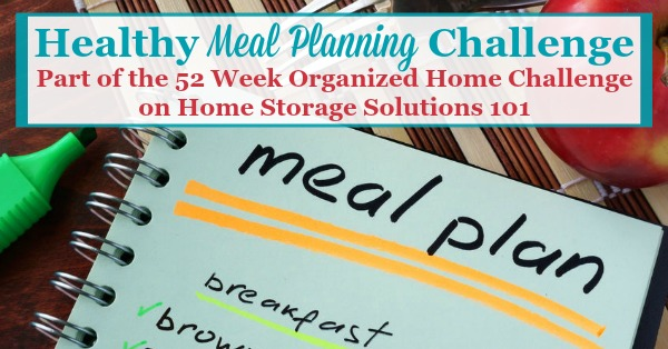 Healthy Meal Planning  Creating Grocery Shopping List How To Get - weekly healthy meal plan
