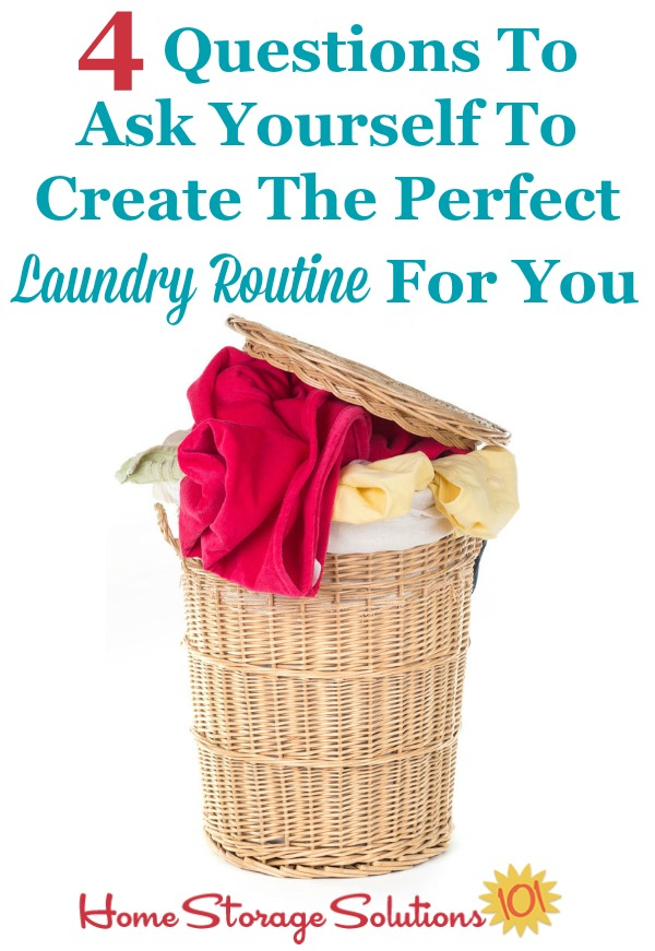 Create A Laundry Schedule Or Routine Plus Free Printable