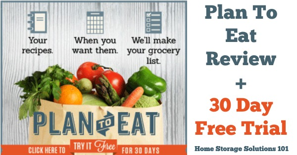 Online Meal Planner Review Plan To Eat - online menu planner free