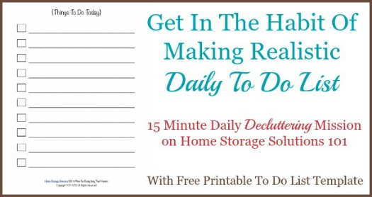 Free Realistic Printable To Do List