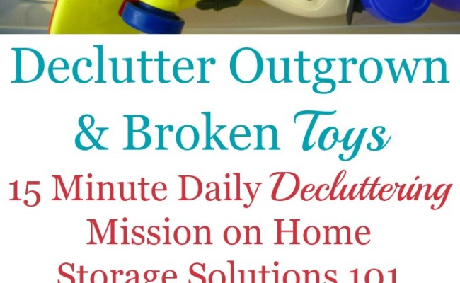 How To Declutter Toys Start With Easiest First