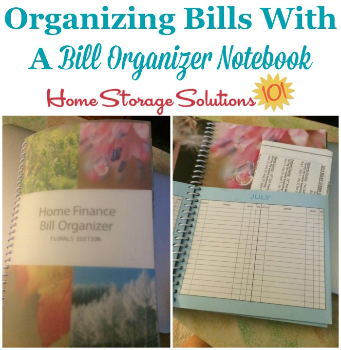 Organizing Bills Hall Of Fame Ideas  Solutions