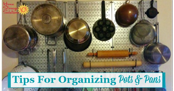 Organizing Pots And Pans Ideas  Solutions