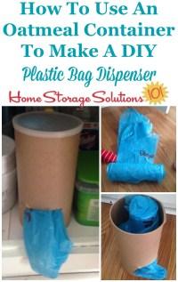 Diy Plastic Bag Holder Pvc - Diy (Do It Your Self)