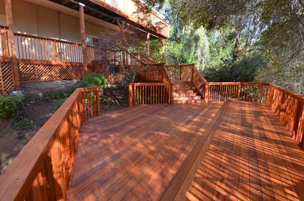 Deck Staining Staining Decks Stain A Deck