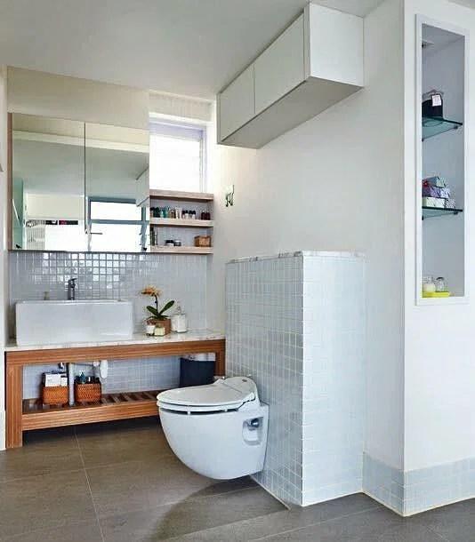7 simple but modern HDB flat bathroom designs Home \ Decor Singapore - simple bathroom designs