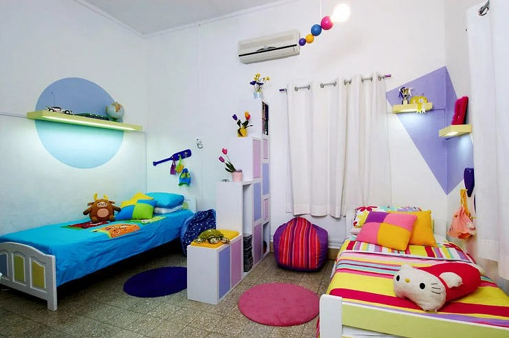 How to design a shared bedroom for two young siblings Home - unisex bedroom ideas
