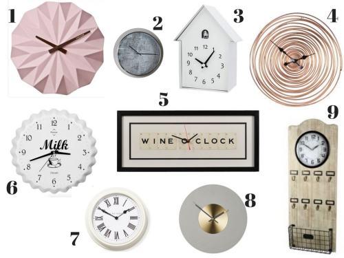 Medium Of Unique Wall Clocks
