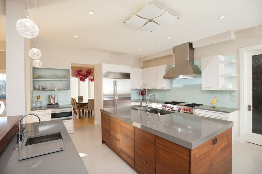 How To Clean Quartz Countertops For A Contemporary Spaces With A