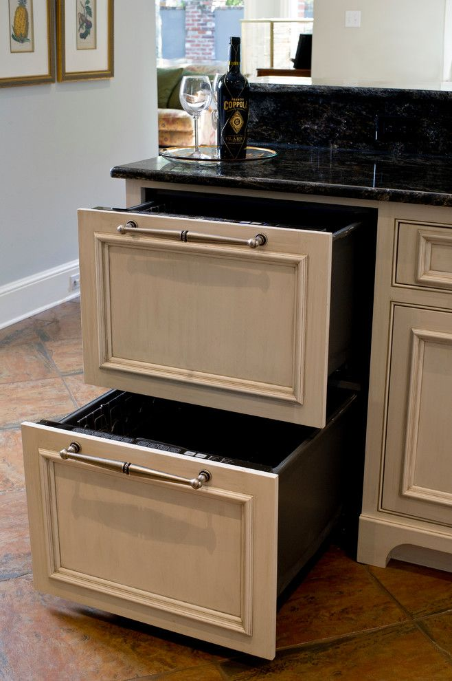 Kiva Kitchen And Bath For A Traditional Kitchen With A Island And