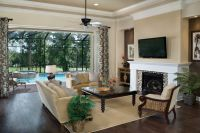 Sherwin Williams Softer Tan for a Traditional Living Room ...