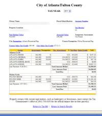 Atlanta Georgia Property Tax Calculator Fulton County ...