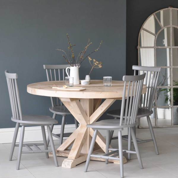 On Line Dining Tables Circular Reclaimed Wood Round Dining Table