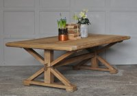 Reclaimed Solid Elm Rustic Coffee table Reclaimed Solid ...