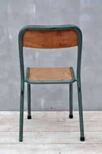 Vintage Industrial Metal Framed Chair