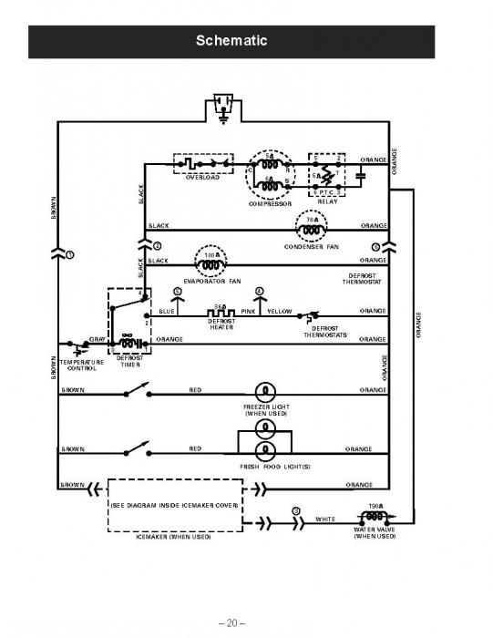 wiring diagram along with refrigerator relay wiring diagram wiring