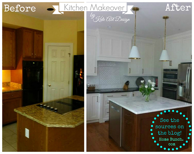 Before \ After Kitchen Makeover Ideas - Home Bunch u2013 Interior - kitchen makeover ideas