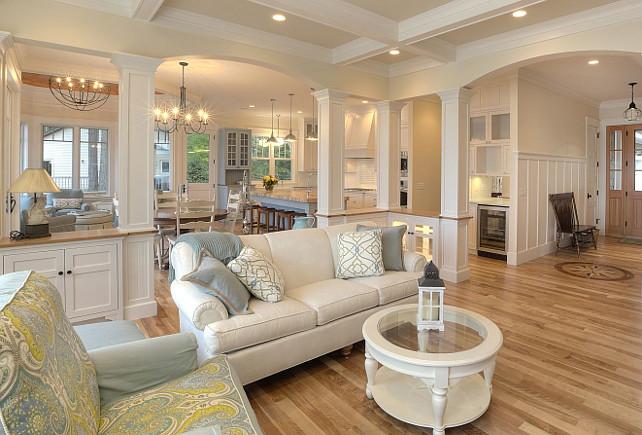 New Classic Coastal Home - Home Bunch u2013 Interior Design Ideas - coastal home decor