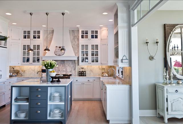 French White Kitchen Design - Home Bunch u2013 Interior Design Ideas - french kitchen design