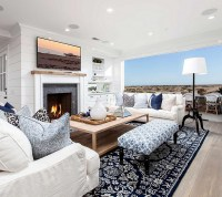 Cape Cod Inspired Beach Cottage - Home Bunch Interior ...