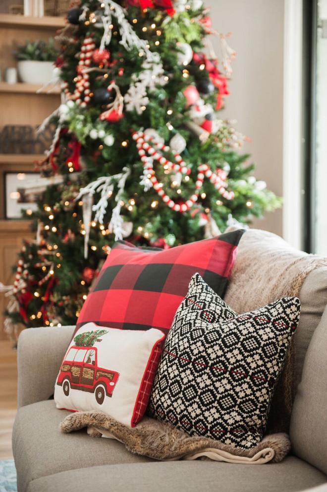 Christmas Decorating Ideas - Home Bunch - decorative christmas pillows