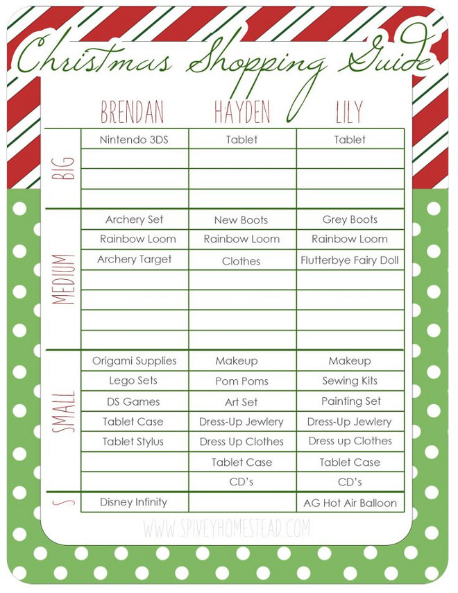 Tips on How to Get Your Christmas Shopping List Done - Home Bunch