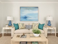Teal Blue Living Room Ideas