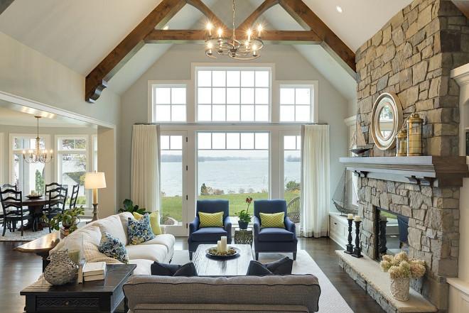 lake house interiors