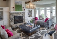 Lake House with Navy Exterior - Home Bunch Interior Design ...