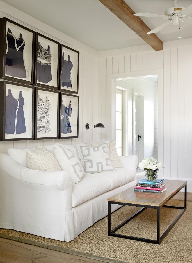 Shingle Style Beach House with Classic Coastal Interiors - Home