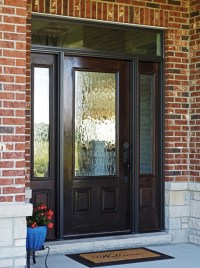 Residential Wood Front Doors With Sidelights