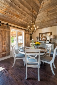 Whitewashed Brick & Reclaimed Barn Wood Shiplap Interiors ...
