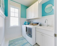 Cheerful Beach Cottage with Turquoise Color Scheme - Home ...