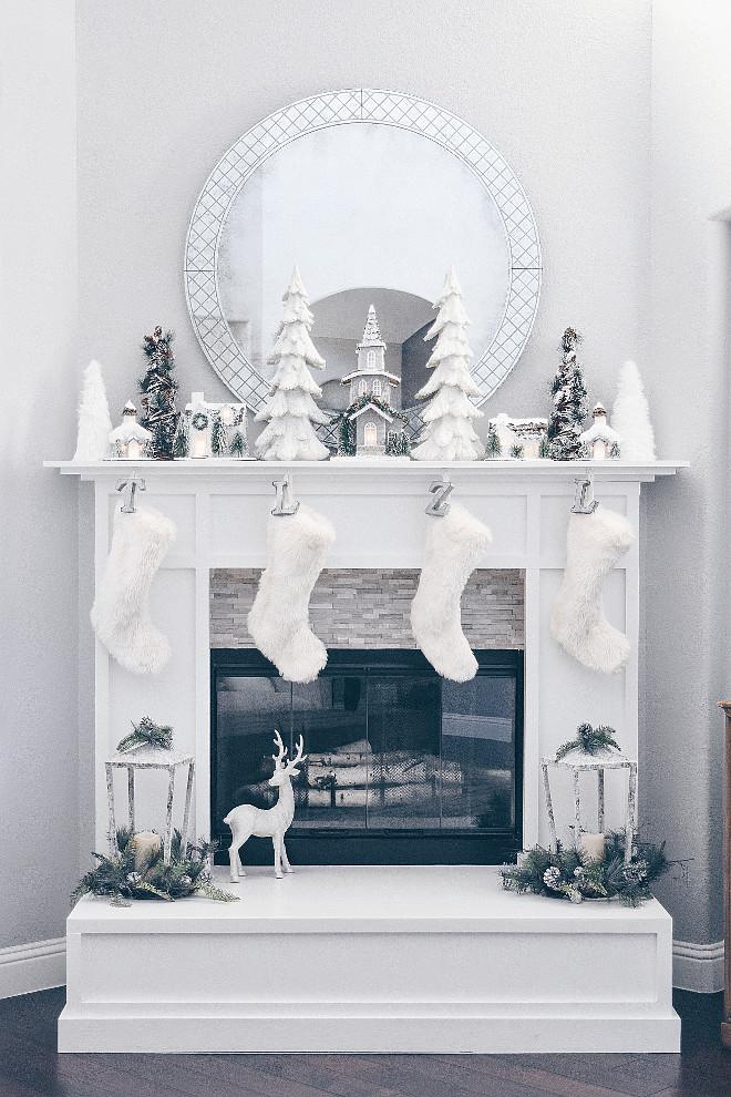 Instagram Christmas Decorating Ideas - Home Bunch Interior Design - christmas fireplace decor