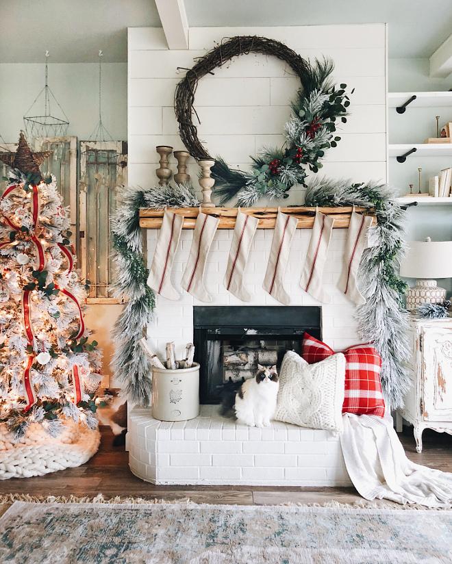 Category Christmas Decorating Ideas - Home Bunch Interior Design - christmas fireplace decor