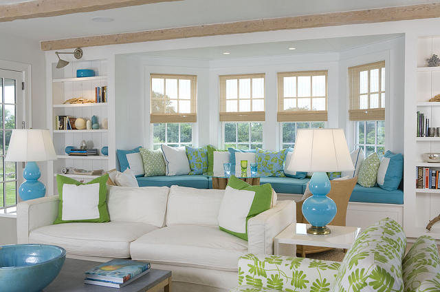 Beach Living Room Cottage Style Beach Inspired Living Room - beach house living room