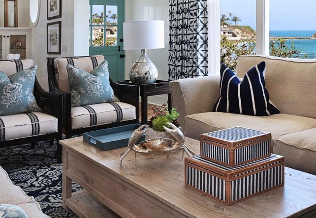 Coastal Interior Design Ideas - coastal home decor