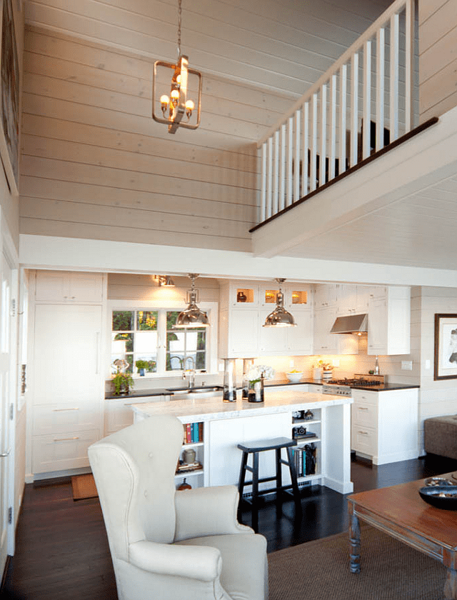 small beach cottage interior design