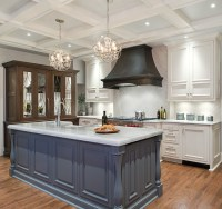 Transitional Kitchen Renovation - Home Bunch Interior ...