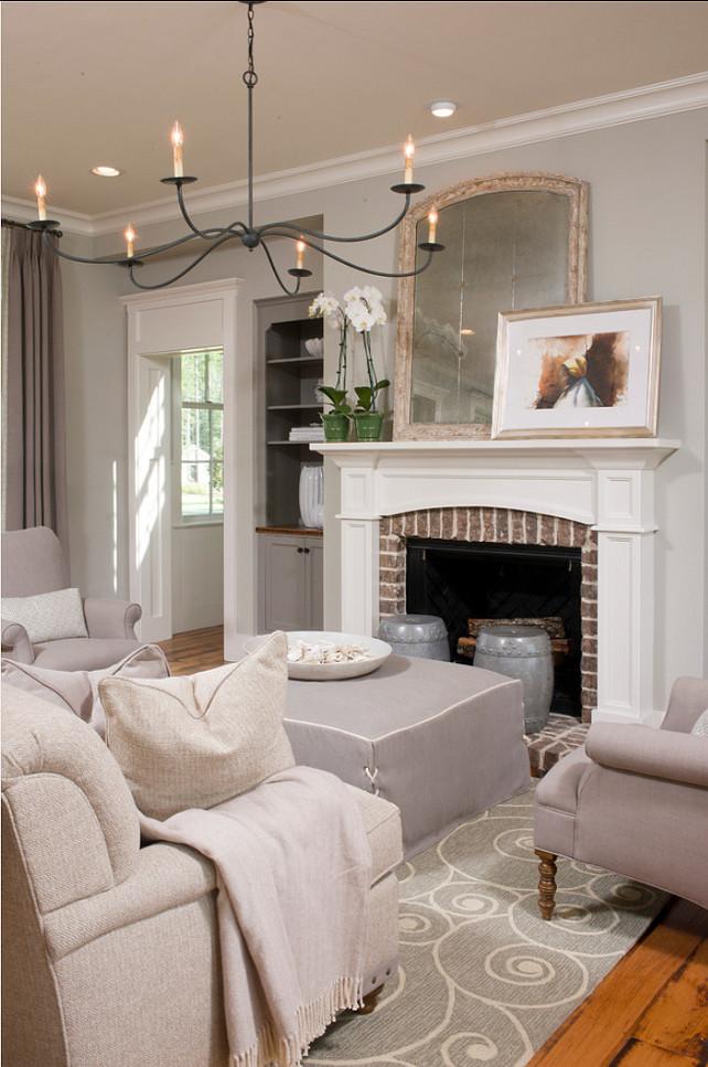 Classic Cape Cod Home - Home Bunch u2013 Interior Design Ideas - mindful gray living room