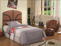 Basketball 3 Piece Youth Bedroom Set by Crown Mark - 5002
