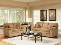Molly Caramel Corduroy Fabric 2 Piece Living Room Set by ...